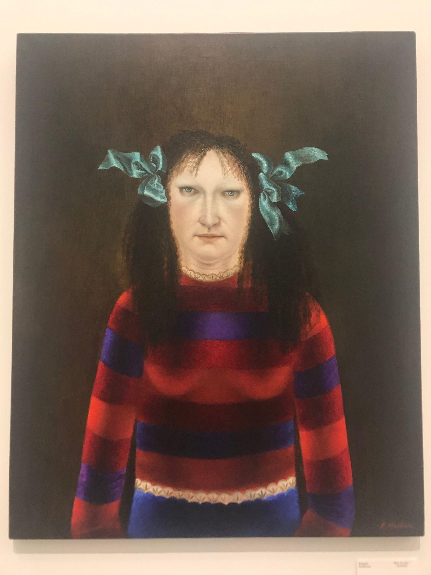 Magda Moskwa, Untitled, wystawa Farba znaczy krew